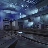 Futuristic Interior 07