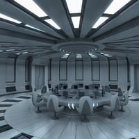 Futuristic Interior 03