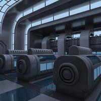 Futuristic Interior 04