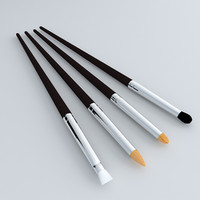 3ds cosmetics brush