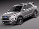 Ford explorer 3D models