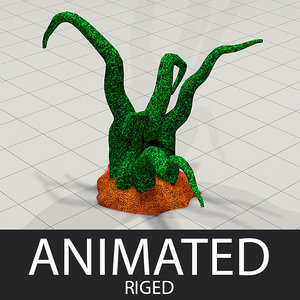 plants games 3d model