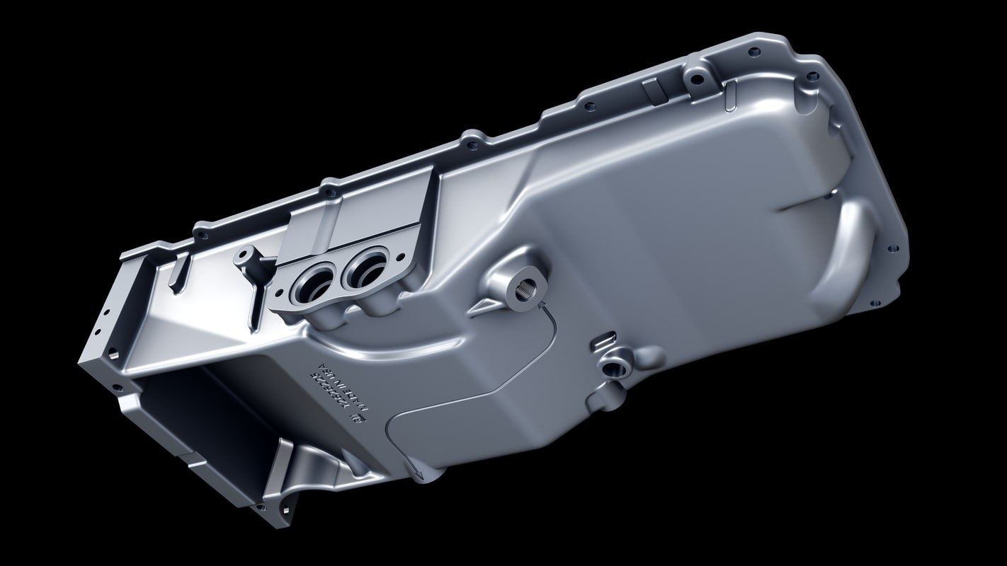 ls7 oil pan 3d model