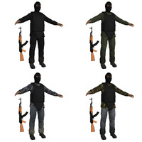 3d model terrorist s