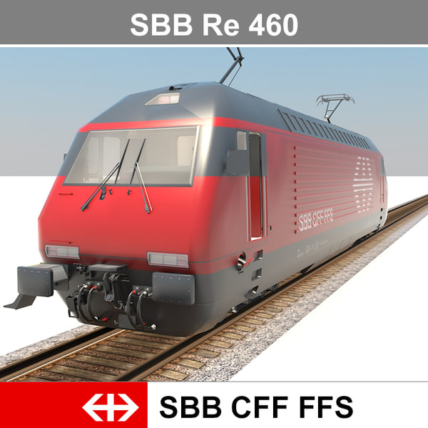 ready passenger train 3d model
