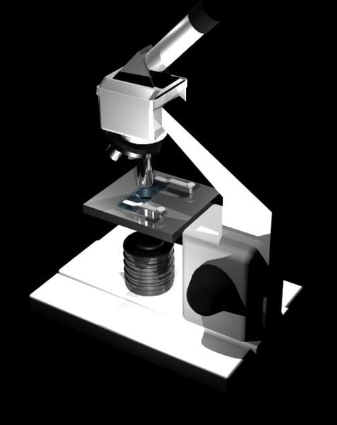 free obj mode microscope