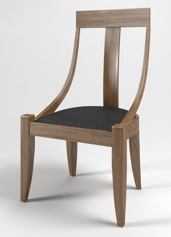 chair art 3d max