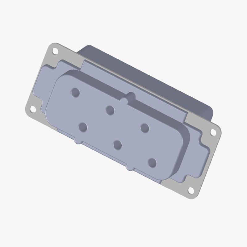 maya harting connector 0931 006