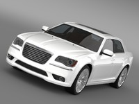 3d max chrysler 300c 2013