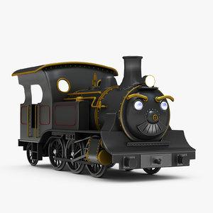 ma cartoon locomotive yaemon
