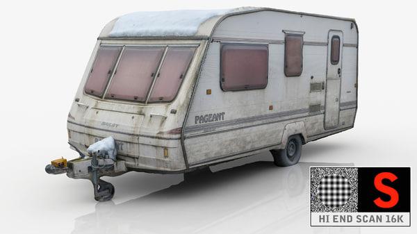 3d caravan van