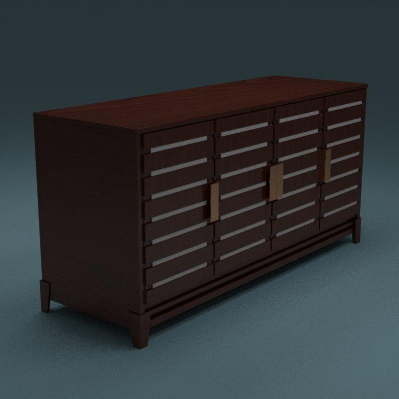 3d fancy cabinet