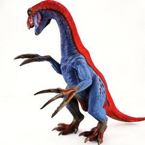 therizinosaurus toy 3d obj