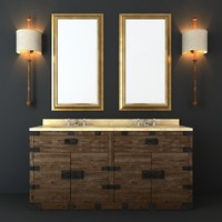 Restoration Hardware  Bathroom Furniture set