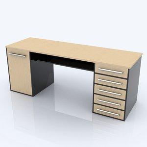 c4d desk table