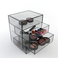 cosmetic box 3d model