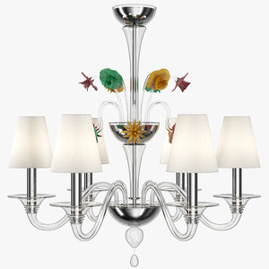 3ds max barovier toso chandelier