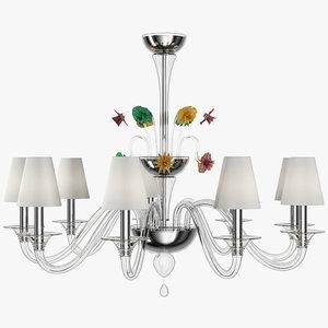 maya barovier toso chandelier