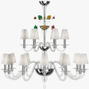 3d model barovier toso chandelier