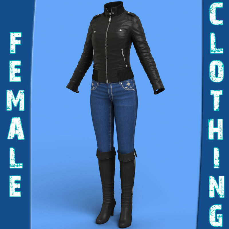 female clothing pack max