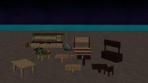 maya beach scene