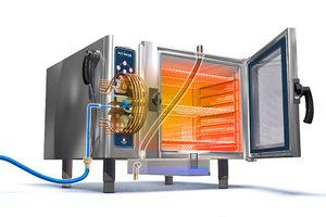 3d model industrial oven