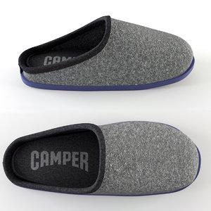 3dsmax camper slipper