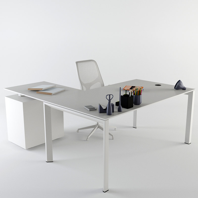 office desk nurus 3d max