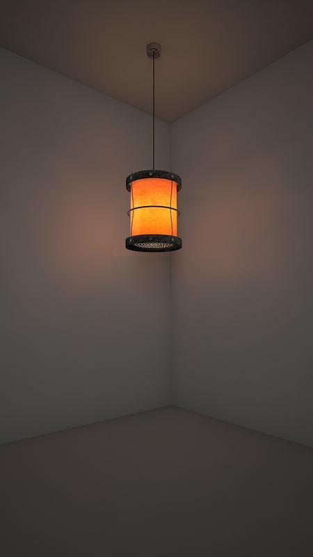 3d suriel lamp model