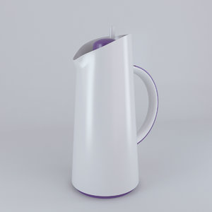 thermos flask vacuum 3d model