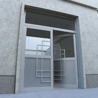 Door - Portal - Cityscape
