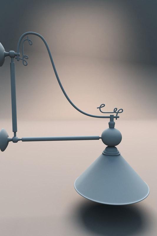 3d 3ds snooker single light
