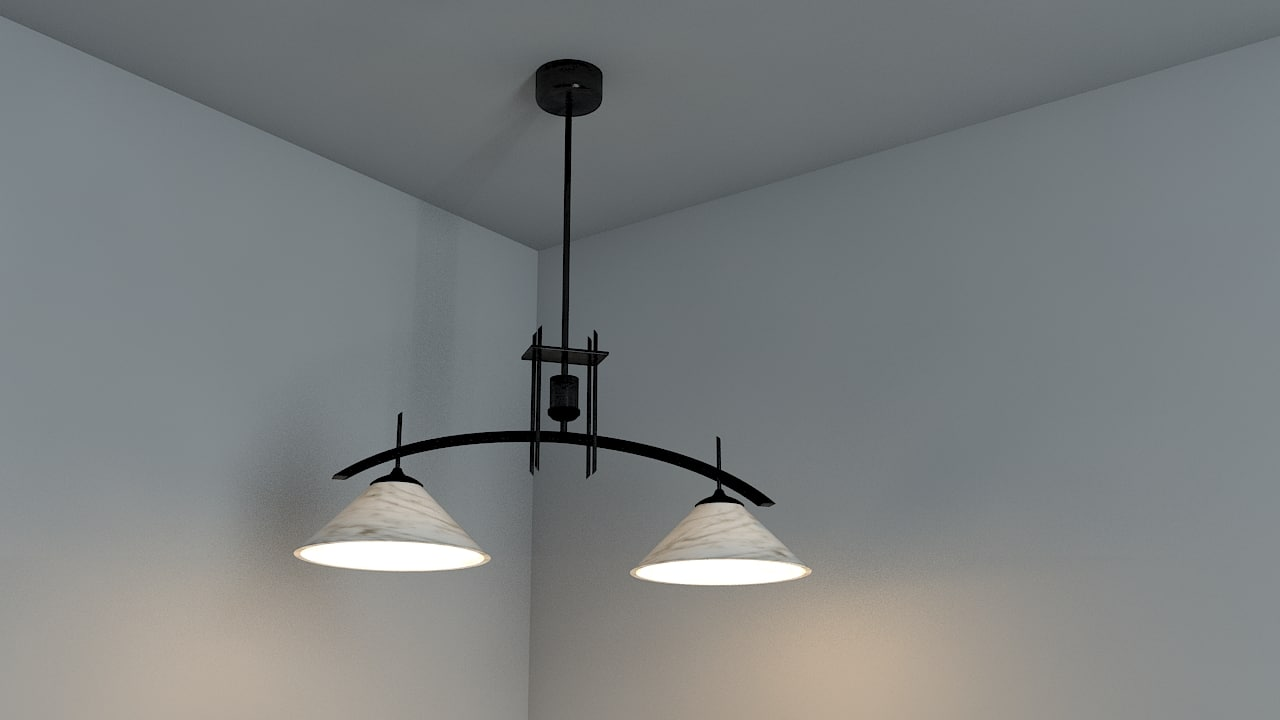 3d model chinese lamp