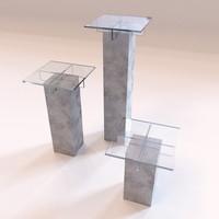 roche bobois - small 3d model