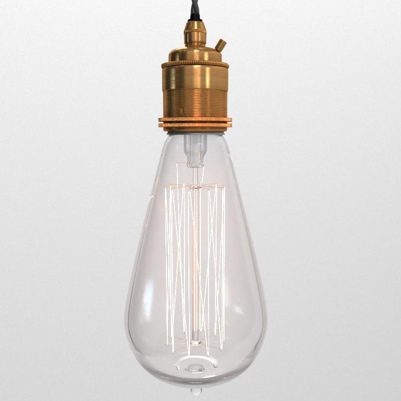 max vintage lamp