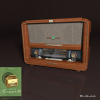 vintage belarus-59 3d model