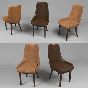 3d model ulivi chair