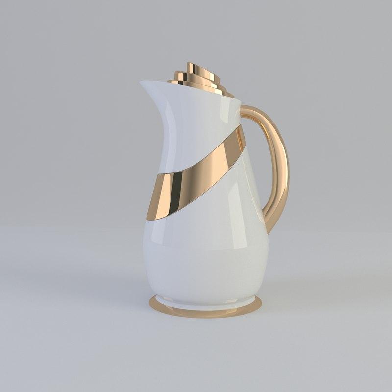 3d model flask vacuum