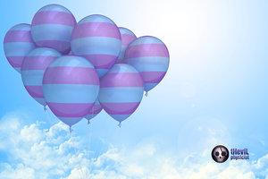 3d model balloon