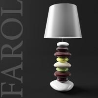 lamp farol 3d model