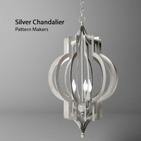 Hampton Lighting_Pattern Makers Silver Chandalier