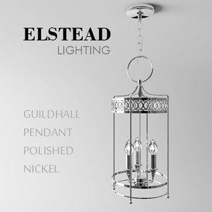 elstead lighting 3d max