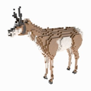 voxel pronghorn max