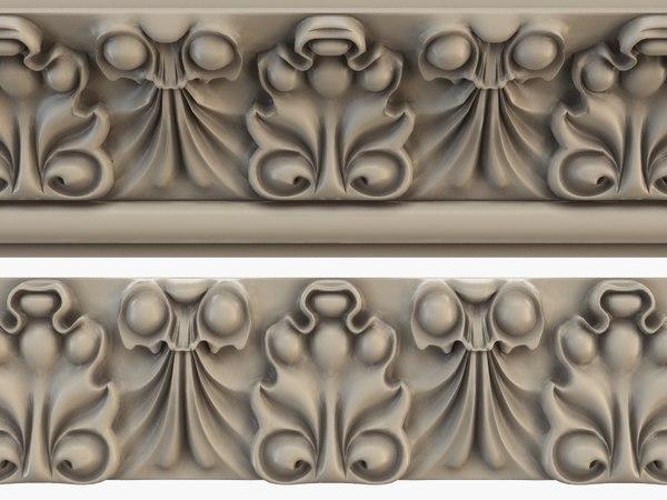 3d moulding model