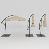3d patio umbrella
