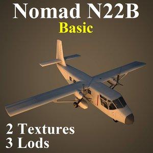 3d gaf n22b basic model