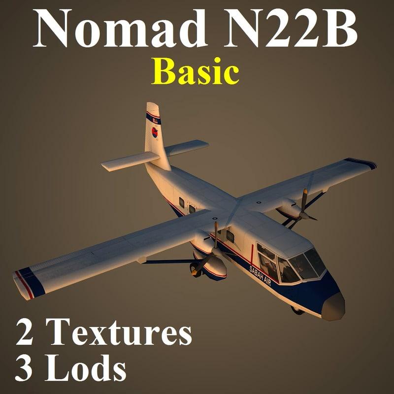 gaf n22b sax 3d model