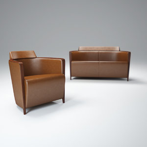 3d model of miss-armchair