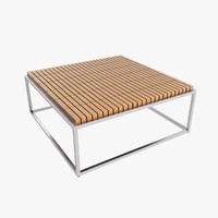 3d modern coffee table model
