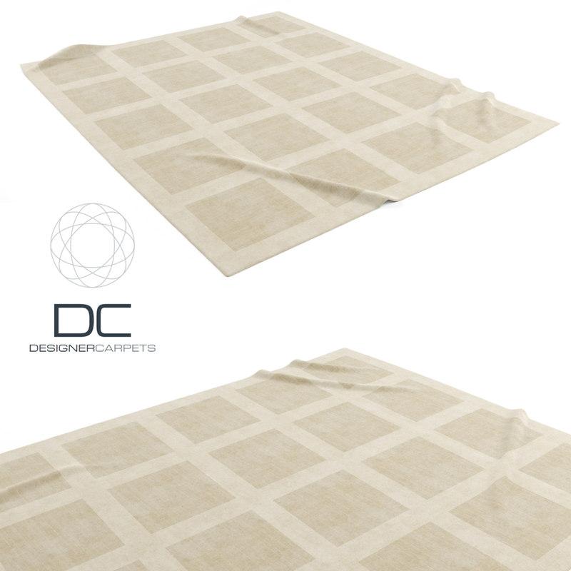 designer carpets fields natural 3d obj